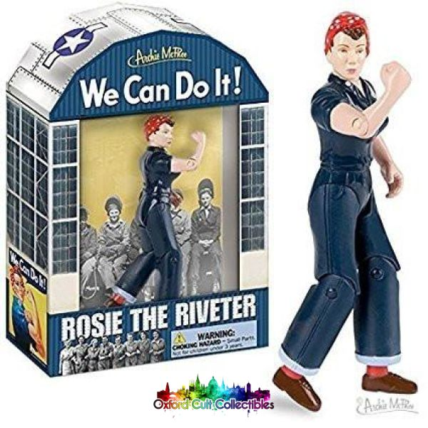 Rosie The Riveter Action Figure Figures