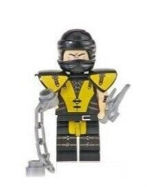 Building Blocks Mortal Kombat 'Scorpion' minifigure