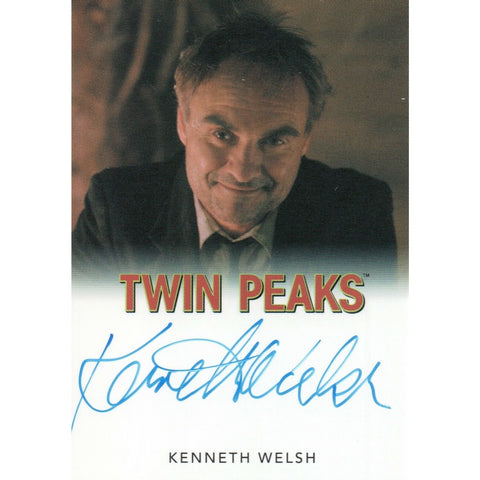 Twin Peaks 'Kenneth Welsh as Windom Earle' autograph card