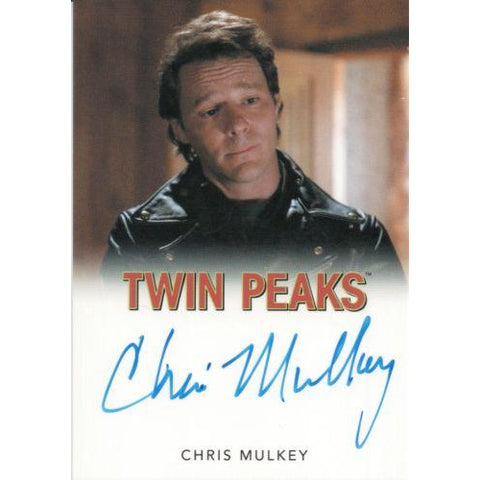 Twin Peaks 'Chris Mulkey as Hank Jennings' autograph card