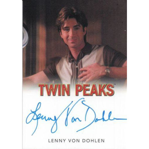 Twin Peaks 'Lenny Von Dohlen as Harold Smith' autograph card