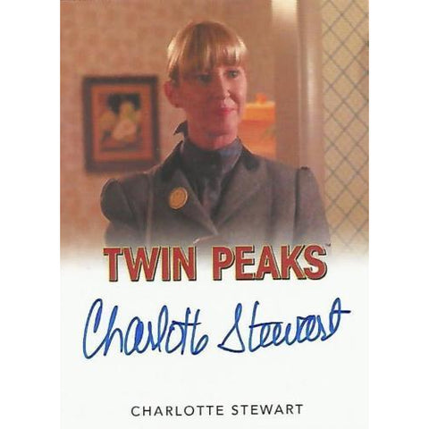 Twin Peaks 'Charlotte Stewart as Betty Briggs' classic autograph card