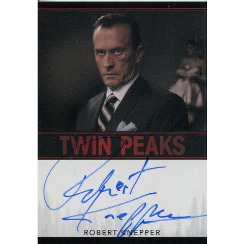 Twin Peaks 'Robert Knepper as Rodney Mitchum' autograph card