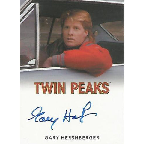 Twin Peaks 'Gary Hershberger as Mike Nelson' classic autograph card