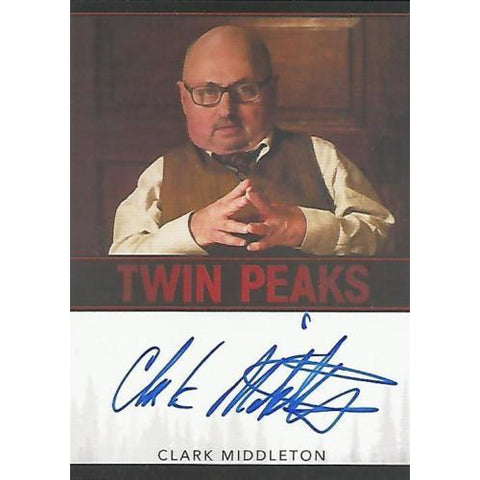 Twin Peaks 'Clark Middleton as Charlie' autograph card