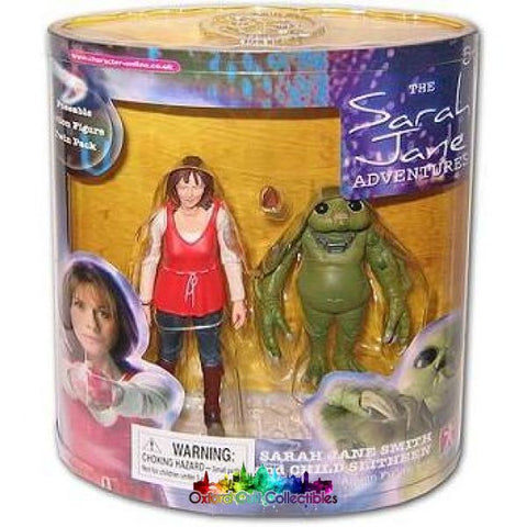 Sarah Jane Smith And Child Slitheen Action Figure Set