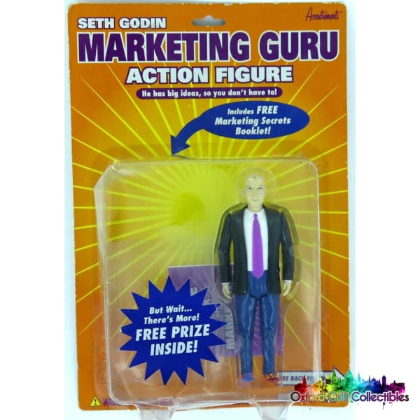 Seth Godin Marketing Guru Action Figure Figures