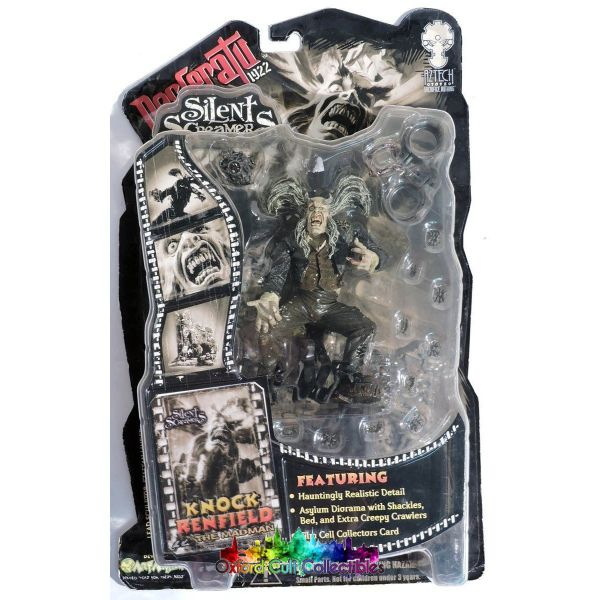Silent Screamers Nosferatu Knock Renfield Action Figure