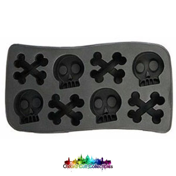 Skull And Bones Ice Cube Mold