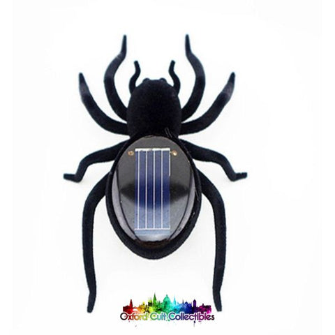 Solar Powered Robot Spider