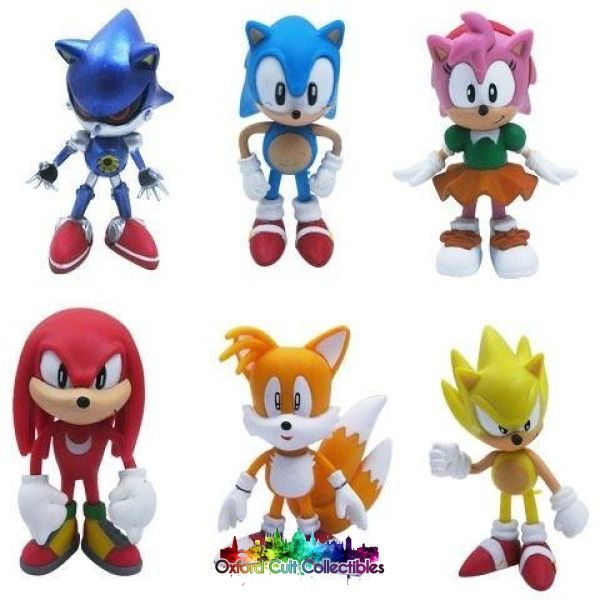 Sonic The Hedgehog Figurine Set