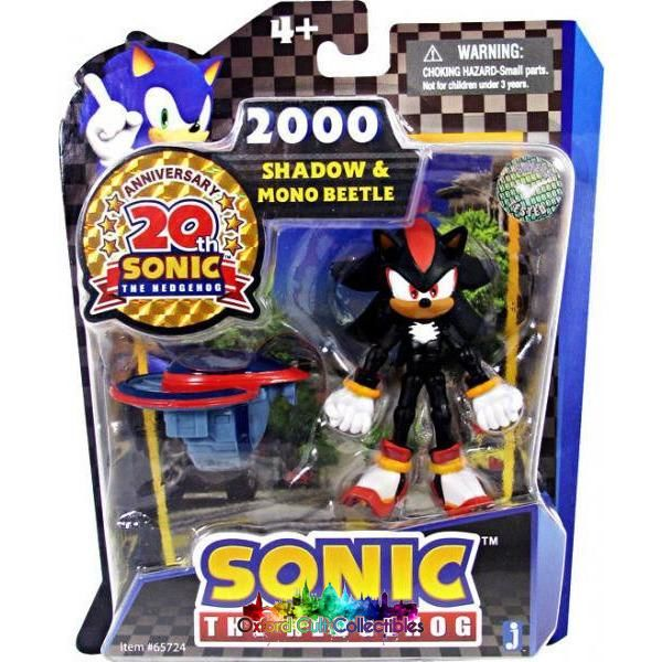 Sonic The Hedgehog Shadow & Mono Beetle Action Figure Set
