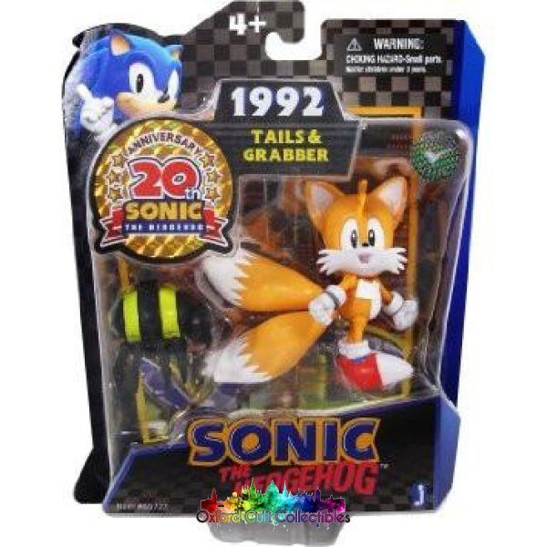 Sonic The Hedgehog Tails And Grabber Action Figure Set