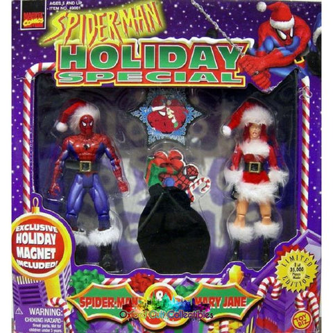 Spider-Man Holiday Special Action Figure Set