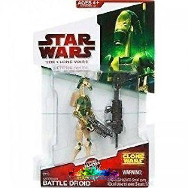 Star Wars Aat Driver Battle Droid Action Figure (The Clone Wars)