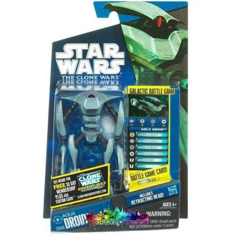 Star Wars Aqua Droid Action Figure (The Clone Wars)