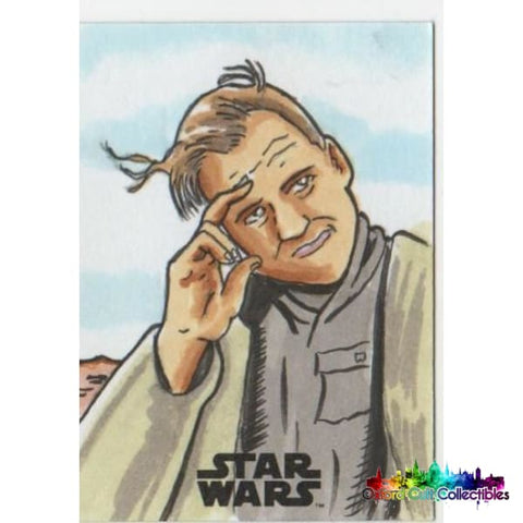 Star Wars Artist Proof Sketch Card