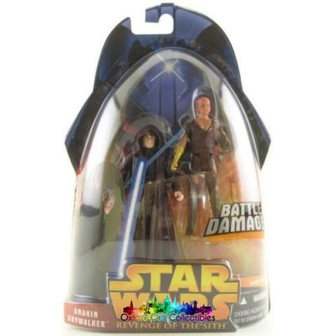 Star Wars Battle Damage Anakin Skywalker Action Figure (Revenge Of The Sith)