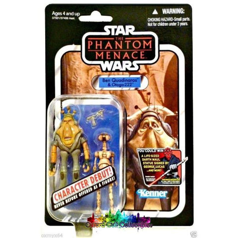 Star Wars Ben Quadinaros & Otoga-222 Action Figures (The Vintage Collection)