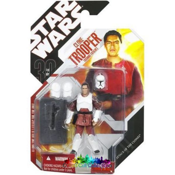 Star Wars Clone Trooper In Training Fatigues Action Figure (30Th Anniversary)