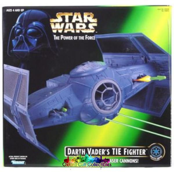 Star Wars Darth Vaders Tie Fighter (The Power Of The Force)