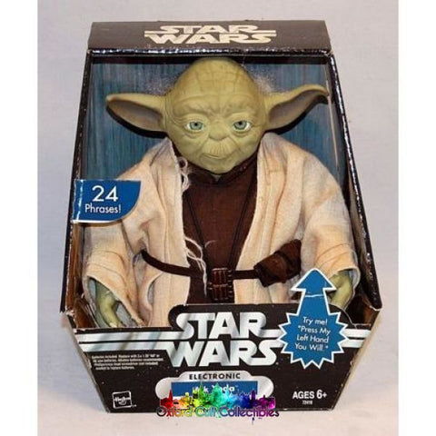 Star Wars Electronic Ask Yoda Figure (The Original Trilogy Collection)