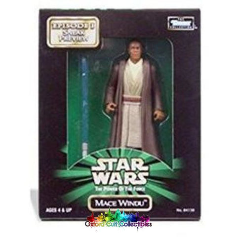 Star Wars Mace Windu Action Figure (The Power Of The Force)