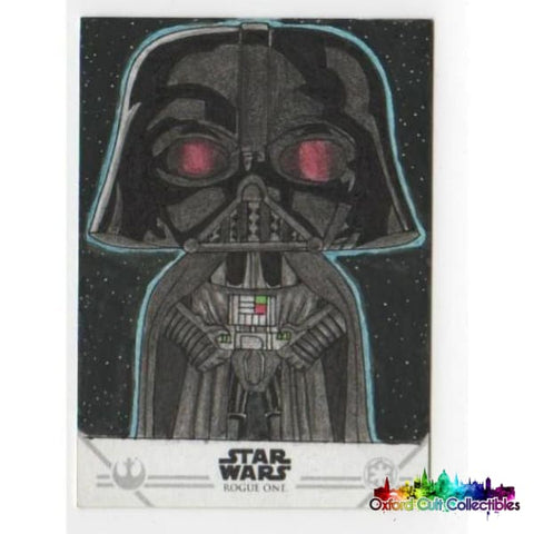 Star Wars Rogue One Sketch Card