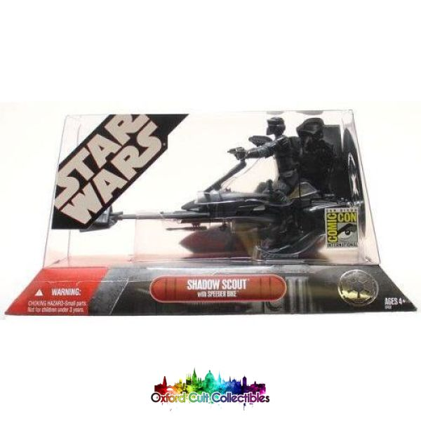Star Wars Shadow Scout With Speeder Bike Action Figure Set (30Th Anniversary)