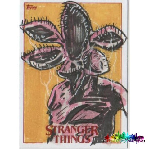 Stranger Things Artist Proof Sketch Card