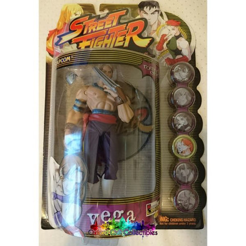 Street Fighter Alpha Round One Vega Action Figure