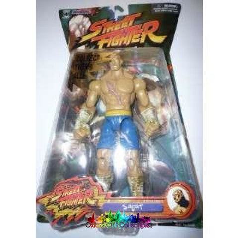 Street Fighter Sagat Action Figure