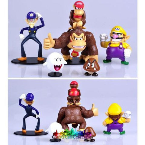 Super Mario Bros Figurine Set A