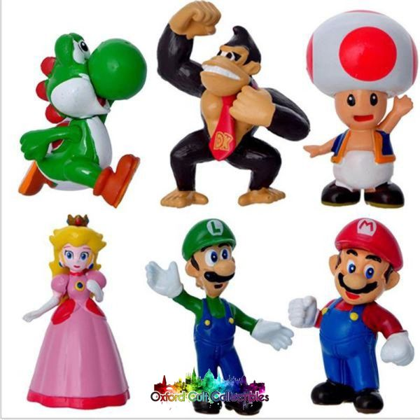 Super Mario Bros Figurine Set B
