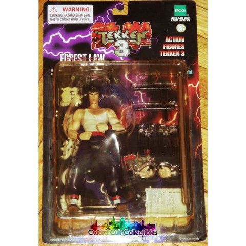 Tekken 3 Forest Law Action Figure
