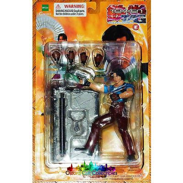 Tekken Tag Tournament Lei Wulong Action Figure