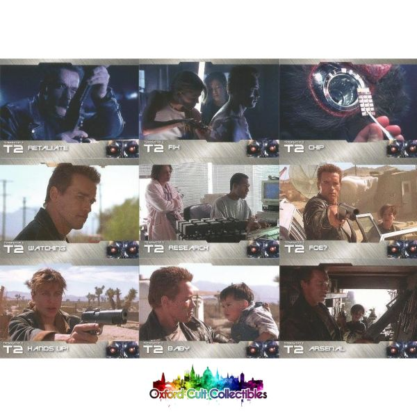 Terminator 2 Judgement Day Trading Card Set