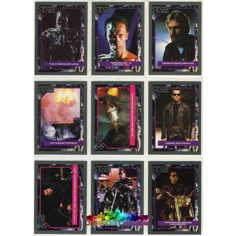 Terminator 2: Judgement Day Trading Card Set