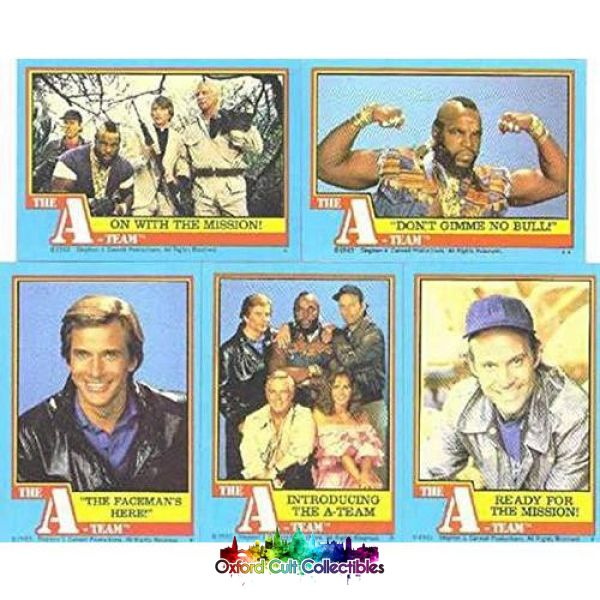 The A-Team Trading Card Set