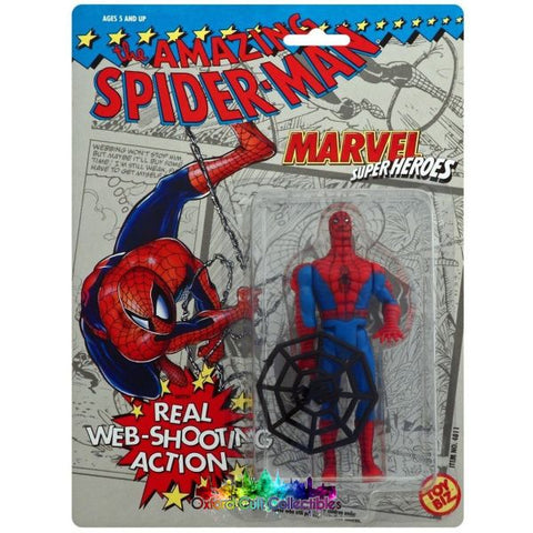 The Amazing Spiderman Web-Shooting Action Figure