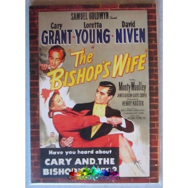 The Bishops Wife Cary Grant Movie Poster Costume Card