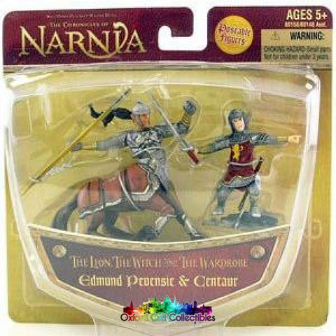 The Chronicles Of Narnia Edmund Pevensie & Centaur Figurine Lion Witch And Wardrobe