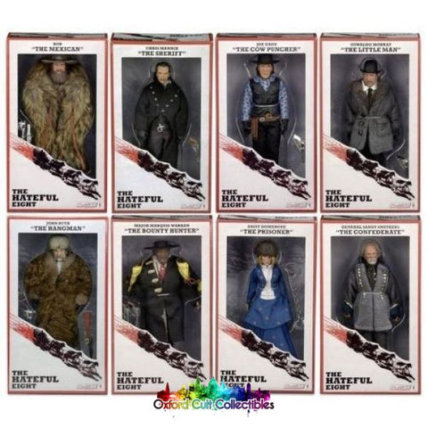The Hateful Eight Action Figure Set
