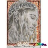 The Hobbit An Unexpected Journey Artist Proof Sketch Card