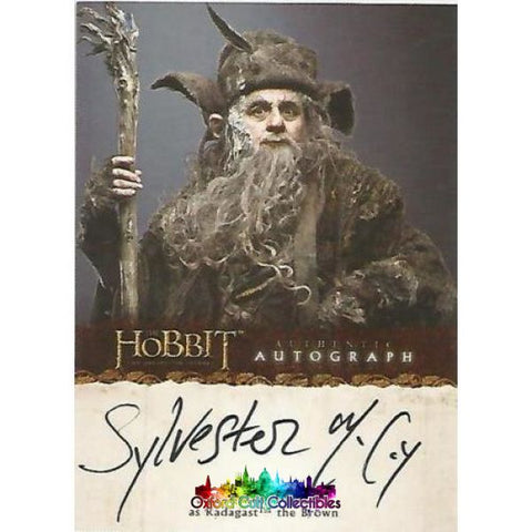 The Hobbit An Unexpected Journey Radagast The Brown Authentic Autograph Card