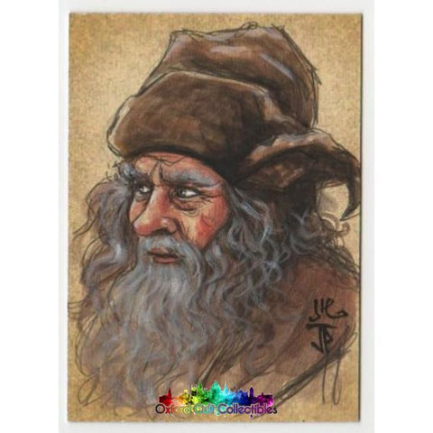 The Hobbit Artist Sketch Card