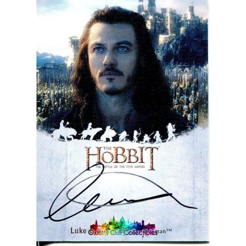 The Hobbit Battle Of The Five Armies Bard Bowman Authentic Autograph Card