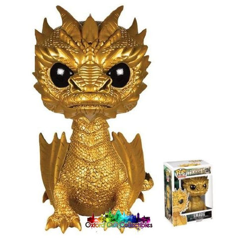 The Hobbit (Battle Of Five Armies) Funko Pop Golden Smaug Figurine #124
