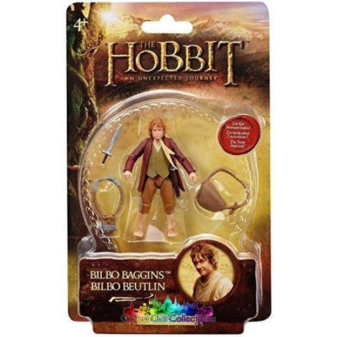 The Hobbit Bilbo Baggins Action Figure (An Unexpected Journey)