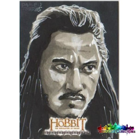 The Hobbit The Desolation Of Smaug Artist Proof Sketch Card